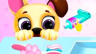 Мультики для детей Кошечка и Собачка Играем Кормим Купаем Малышей Катю и Макс Kiki Fifi Pet Friends
