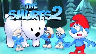 The Smurfs 2 Artic Tundra All Levels Gameplay Kids Games Walkthrough Compilation