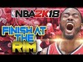 NBA 2K18 Tips: How to Finish at the Rim! No More Missed Layups or Dunks!!!