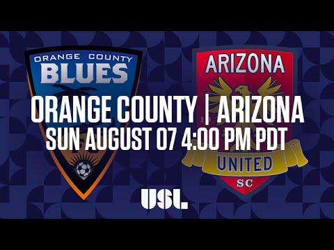 WATCH LIVE: Orange County Blues FC vs Arizona United SC 8-7-16