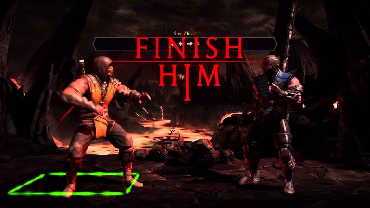 Fatalities De Scorpion Mortal Kombat X Playstation 4 Youtube