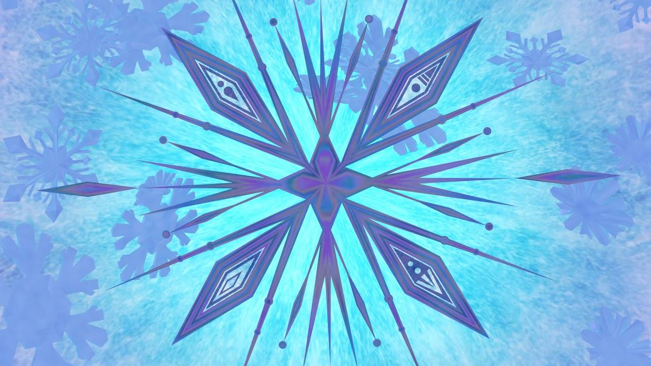 frozen 2 snowflake template  Frozen 7 Snowflake 7D Animation