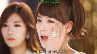 Davichi & T-ara - We were in love (Hangul + English translation)