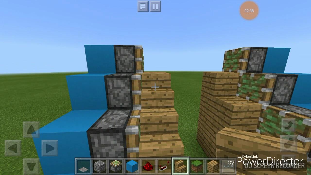 Wie Baut Man Eine Einfahrbare Treppe In Minecraft Pe Weinachtsspezial