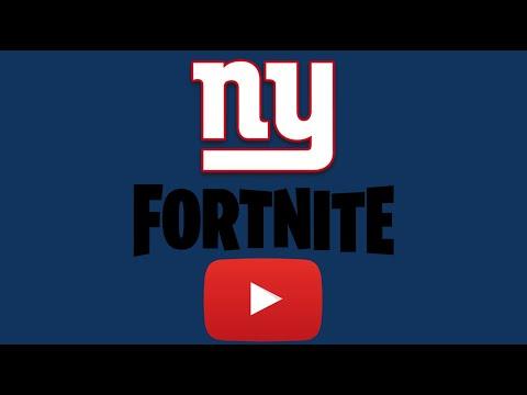NY Giants/Fortnite Live Stream Event