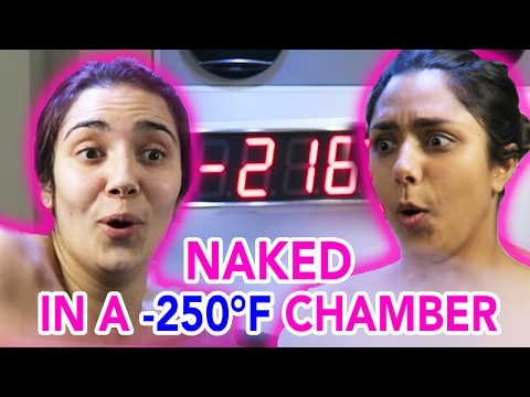 We Tried A -250°F Cryotherapy Chamber (feat. Safiya Nygaard)