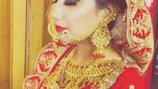 Indian look bridal makeup done by Bhavana sharma ...