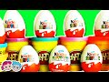 Kinder Surprise EGGS Toys NEW Magic Kinder Natoons Penguins of Madagascar