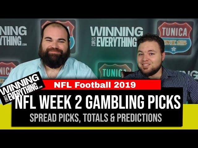 WCE: 2019 NFL Week 2 Gambling Picks (Against the Spread)
