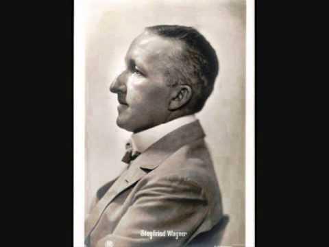 """Siegfried Wagner """"Glück"""" Tone-Poem For Felizia"""