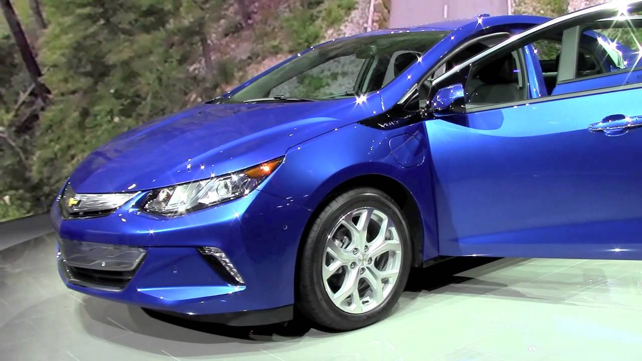 Model 2016 Chevrolet VOLT First Look By Automotive Review  YouTube