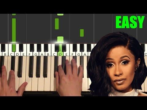 cardi-b---press-(easy-piano-tutorial-lesson)