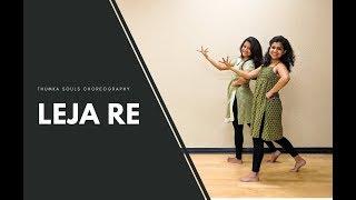 Leja Re   Dance Cover   Dhvani Bhanushali   Easy Sangeet Dance   Thumka Souls Choreography