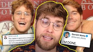 Garrett Watts SPEAKS OUT Against Shane Dawson...
