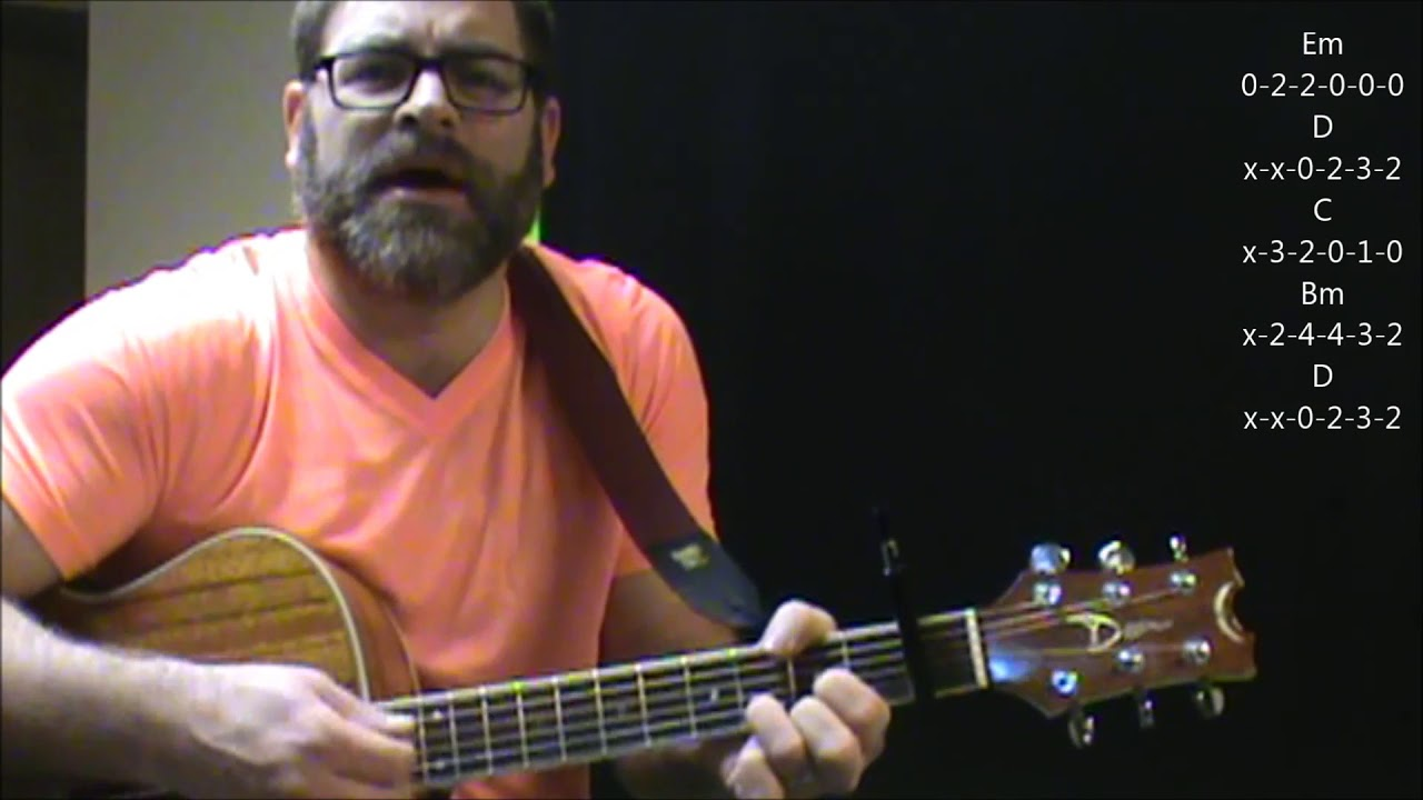How To Play Hazy Shade Of Winter By The Bangles On Acoustic Guitar