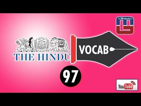 THE HINDU VOCAB : BILINGUAL VERSION - 97