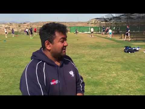 Desert Springs Cricket - 'Team Talk' - Bedford School