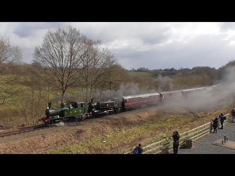 Severn Valley Railway - Spring Steam Gala 17th March 2018
