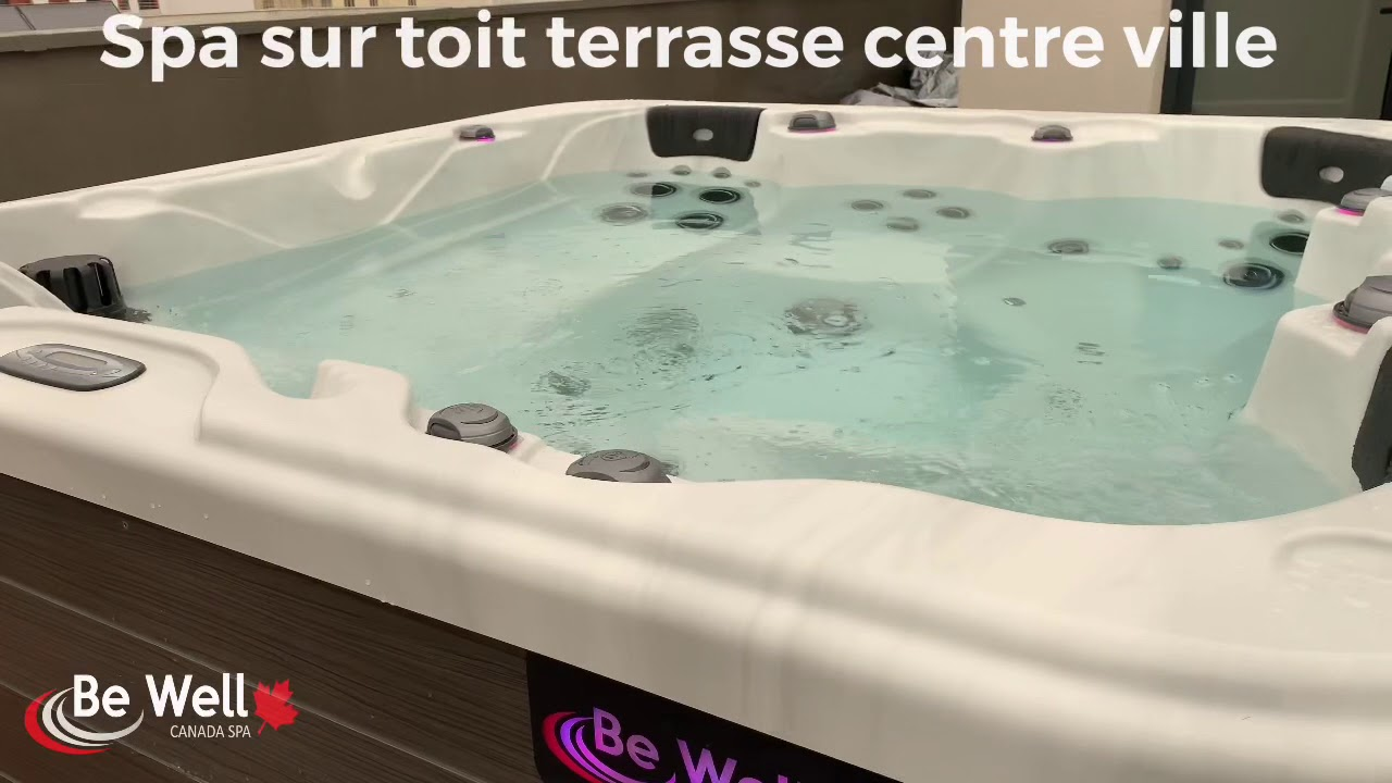 Spa Sur Toit Terrasse Youtube