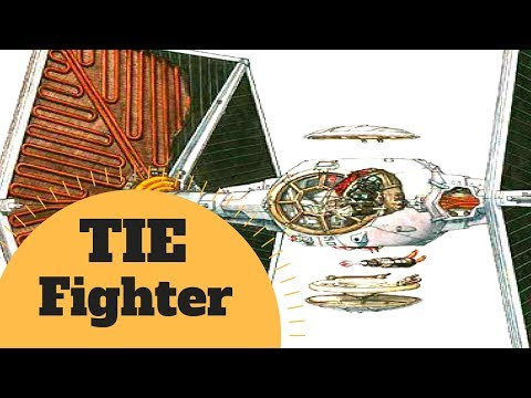 IN-DEPTH BREAKDOWN - TIE Fighter Starfighter Lore - Star Wars Canon & Legends Lore Explained