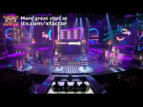 The Final 12 sing Forget You  The X Factor  results 3  itvcomxfactor