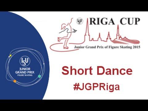 ISU 2015 Jr Grand  Prix  Riga Short Dance