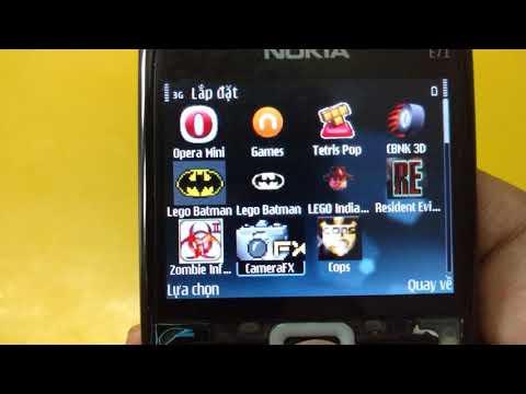 Nokia E71 front camera