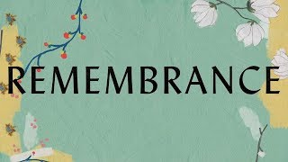 Remembrance Lyric Video - Hillsong Worship
