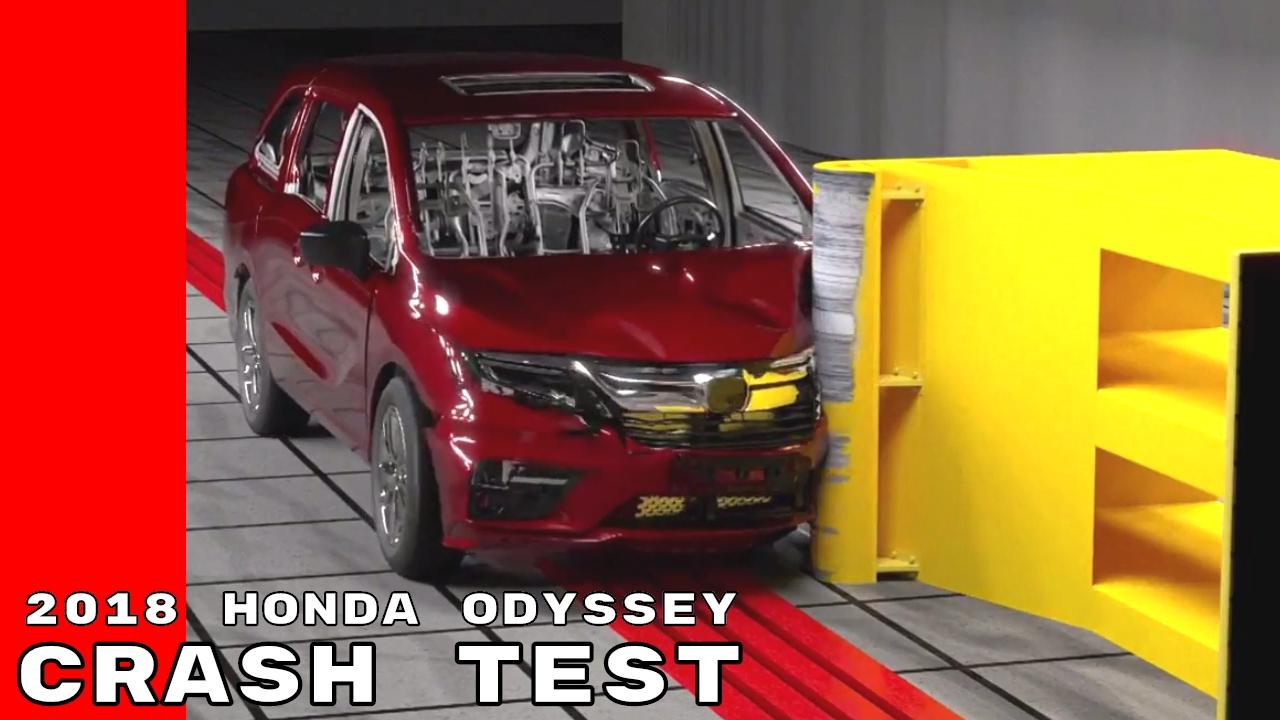 2018 Honda Odyssey Crash Test Simulation