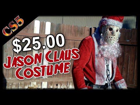 $25.00  Jason Claus Costume Tutorial | CS5's Cost Cut Costume Tutorials
