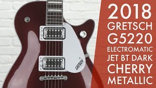 Gibson Killer - 2018 Gretsch G5220 Electromatic Jet BT Dark Cherry Metallic