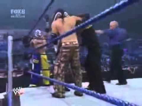 Jeff Hardy, Matt Hardy & Rey Mysterio vs. Kane, Mark Henry & MVP
