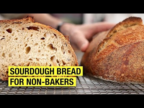 A Non-Bakers Guide To Making Sourdough Bread