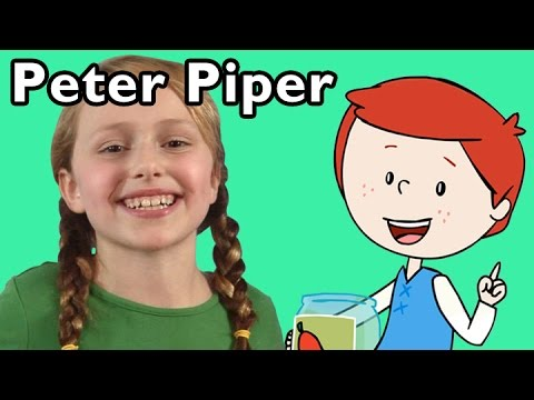 Peter Piper and More | Nursery Rhymes from Mother Goose Club!