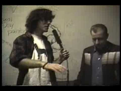 REVEREND HORTON HEAT Interview for DaveTV at Liberty Lunch, Austin, Tx. 11/3/93