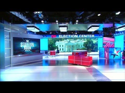 CNN Washington Unveils New Studio