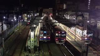 【京成】終電後の試運転電車@京成高砂駅
