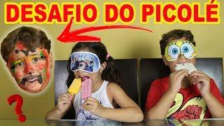 DESAFIO DO SORVETE!!! - OLHA SÓ O QUE ACONTECEU!!!