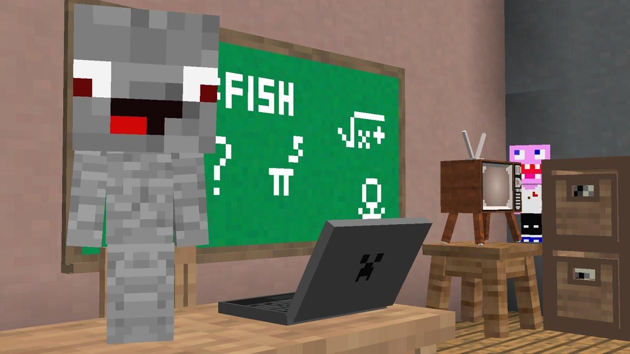 Minecraft Film Deutsch In Der Schule Verstecken Spielen YouTube - Minecraft spiele youtube