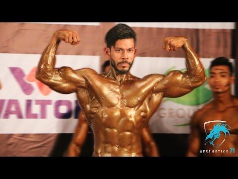 Best Bodybuilding Posing Ever by Tameer Anwar - Mr. Bangladesh 2016