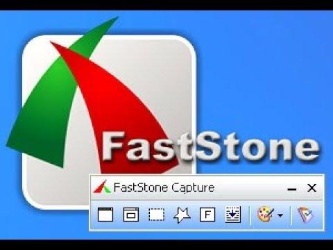 FASTSTONE 8.6 TÉLÉCHARGER CAPTURE