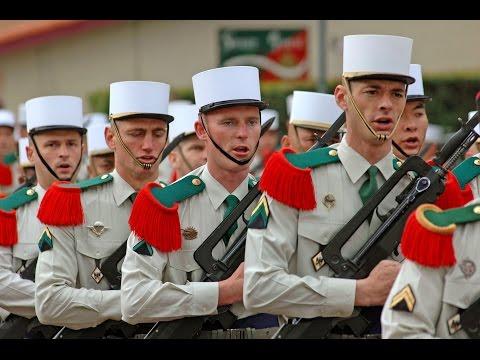 képi blanc -- Chant de la Legion étrangère (French foreign legion)