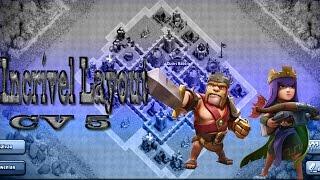 Clash of Clans - Incrível Layout Híbrido Para CV 5