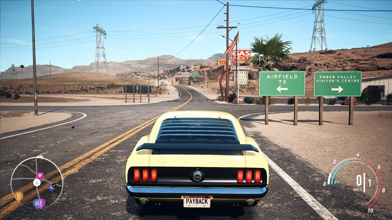 Need for speed payback ford mustang boss 302 open world free roam gameplay pc hd 1080p60fps