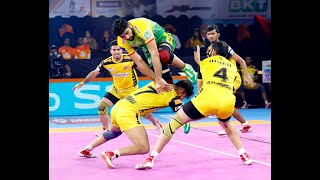 Pro Kabaddi 2019 Highlights: Patna Pirates vs Telugu Titans