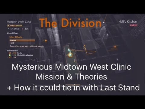 The Division | Mysterious Midtown West Clinic Mission & How It Could Tie In With Last Stand