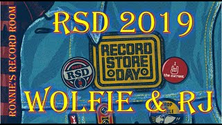 Record Store Day RSD 2019 | Ronnie - Wolfie - RJ