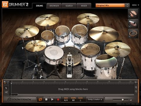 Setup EZDrummer 2 [Mr.Joker]