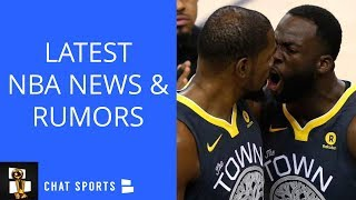 NBA Rumors: Kevin Durant-Draymond Green Fight Getting Worse, Carmelo Anthony To Lakers?