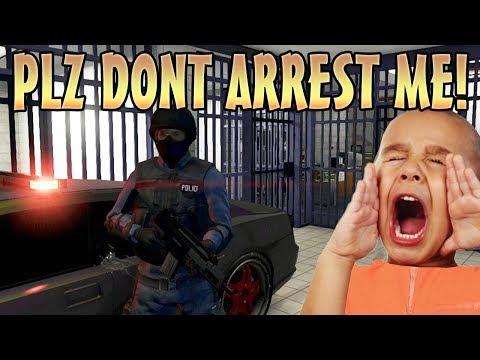 PLAY AS A COP MOD TROLLING ONLINE! (GTA 5 Mods)